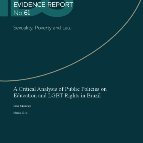 A Critical Analysis of Public Policies on Education and LGBT Rights in Brazil
