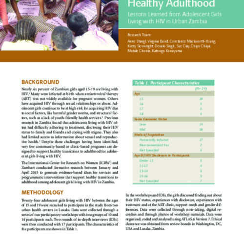 transitioning to a healthy adulthood Zambia.pdf
