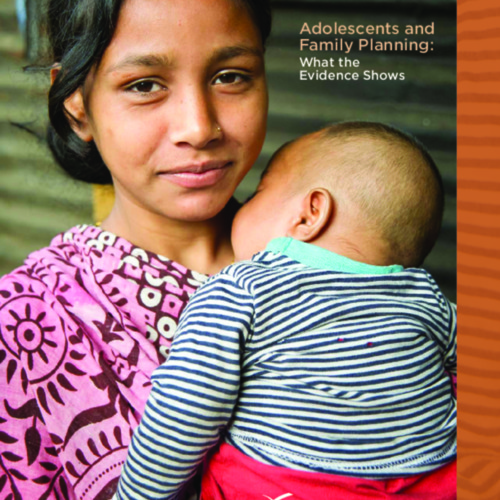 Adolescents and Family Planning: What the Evidence Shows