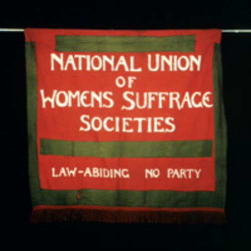 LSE suffrage banners.jpg
