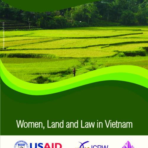Women, Land and Law in Vietnam